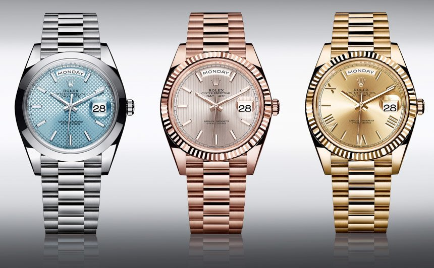 Roley Day-Date 40 Caliber 3255 Trio - Perpetuelle