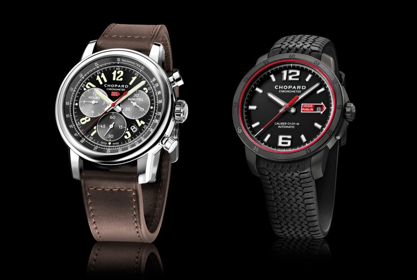 Chopard Mille Miglia 2016 XL Race Edition and Mille Miglia GTS Automatic Speed black