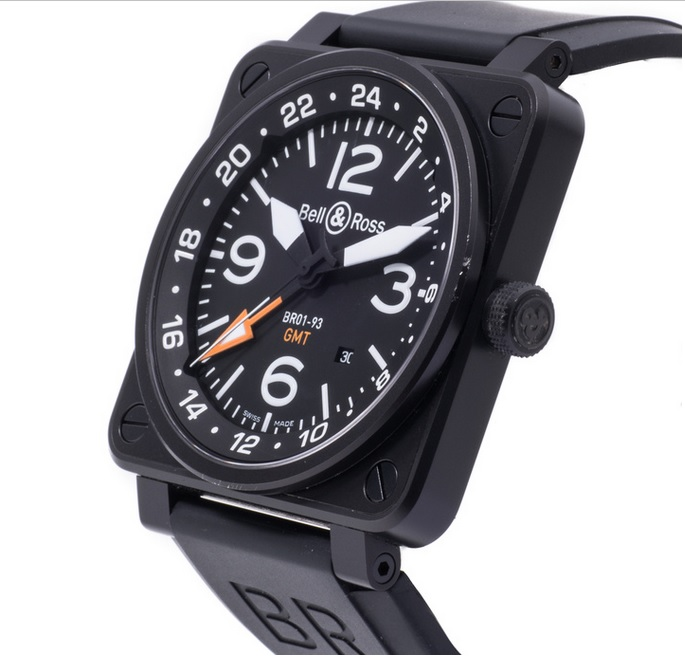 Bell Ross BR01-93 GMT - angle - Perpetuelle