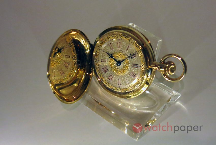 Women's pocket replica Watch Nr. 6 118, by Moritz Grossmann for his second wife, about 1880. Museum of German Watchmaking Glashütte