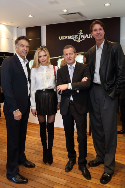 The Luxury ULYSSE NARDIN opens exclusive boutiques in New York and Paris