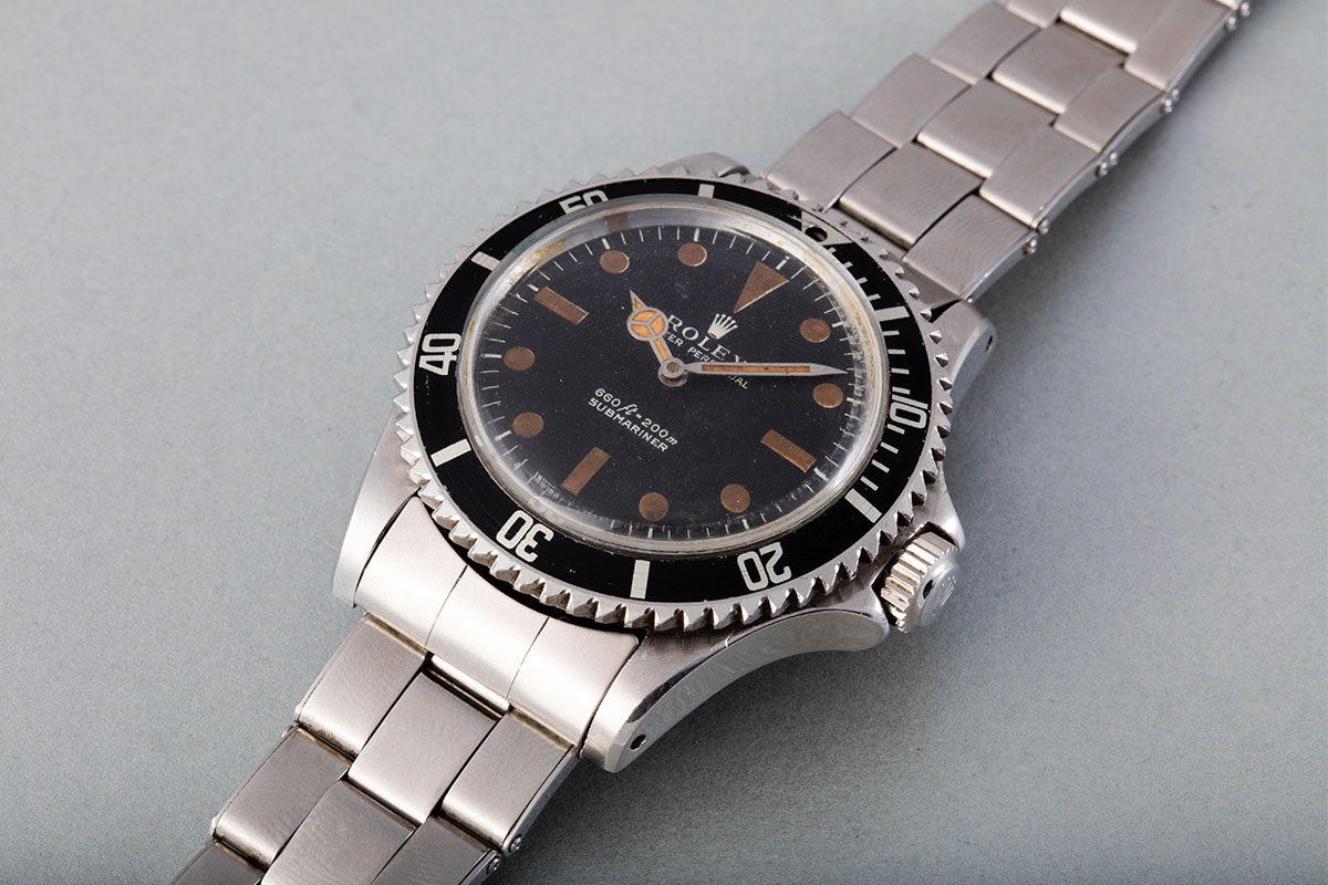 """007 James Bond's """"Buzz Saw"""" Rolex Submariner 5513 will be worn in """"Live and Let Die"""""""