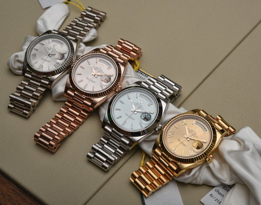 Heads Up Replica Rolex Day date Watches Buyers Guide