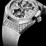 Replica Suppliers Audemars Piguet Royal Oak Concept Ladies' Flying Tourbillon And Double Balance Wheel Frosted Gold Openworked